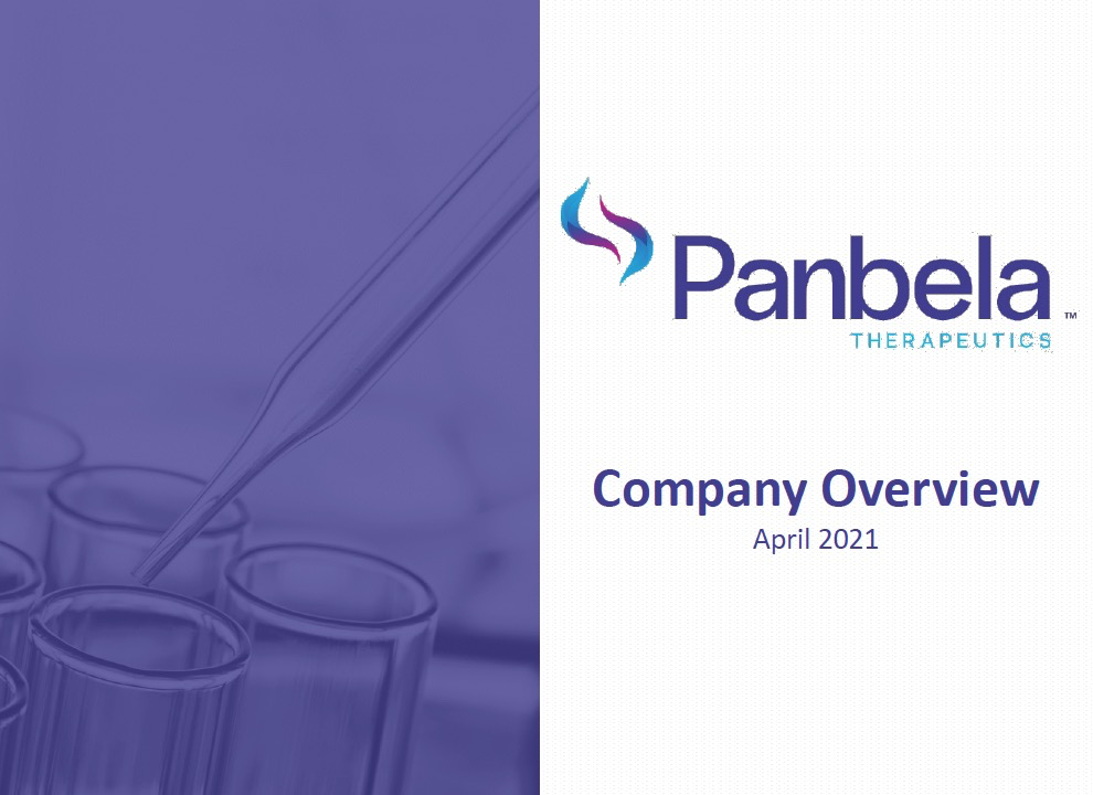 Panbela Company Overview cover
